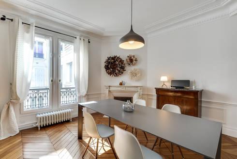 salle manger design aux lignes classiques