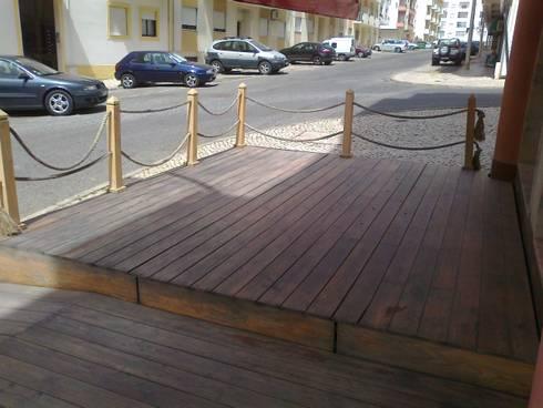 Restauro de Esplanada em Madeira:   por Paulo AFonso