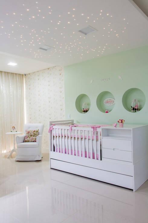 Recámaras infantiles de estilo  por Carolina Mota - Arquitetura, Interiores e Iluminação