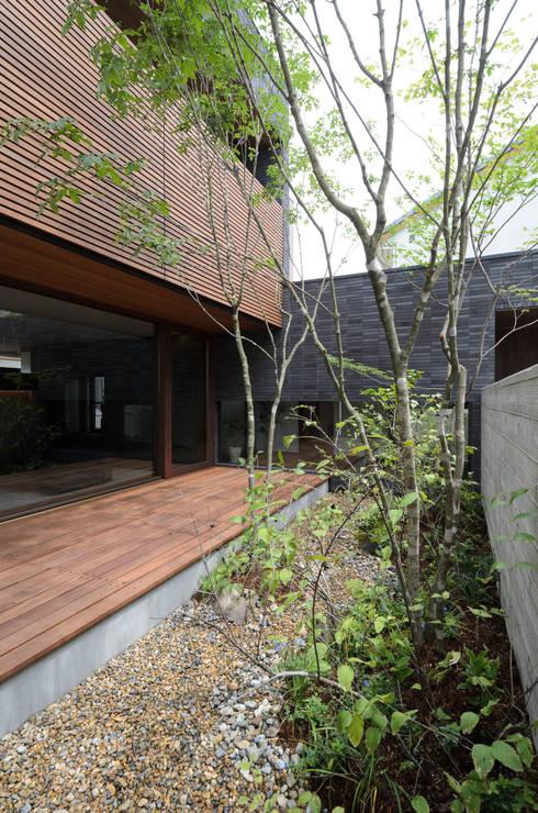 Jardins  por バウムスタイルアーキテクト一級建築士事務所