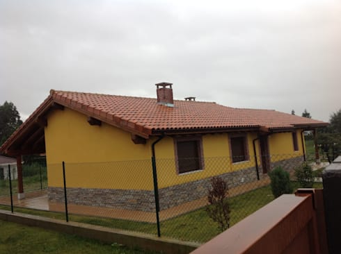 Casa una planta asturias de modular home homify - Casas modulares asturias ...
