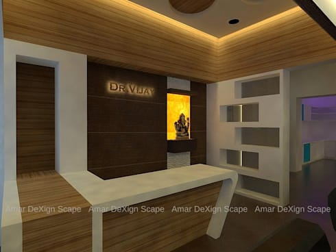 Consultation Room:   by Amar DeXign Scape