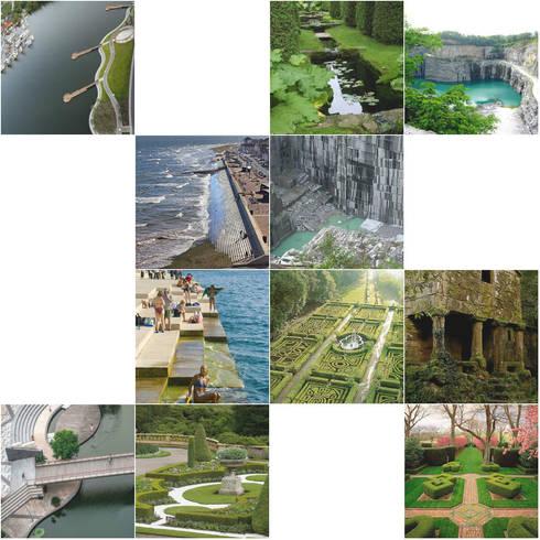 Projectos de Recuperação e Integração Paisagística:: Jardins ecléticos por Trifolium LAA