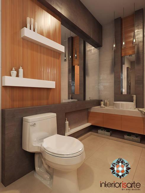 Baño: Baños de estilo  por Interiorisarte