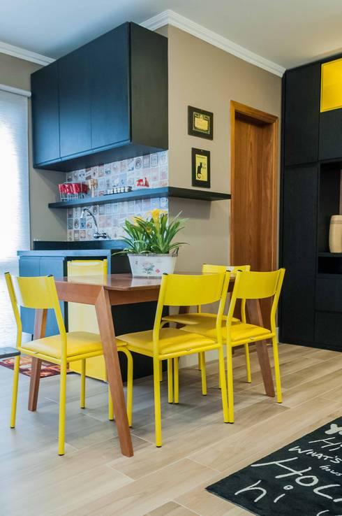 Столовые комнаты в . Автор – Liana Salvadori Arquitetura e Interiores