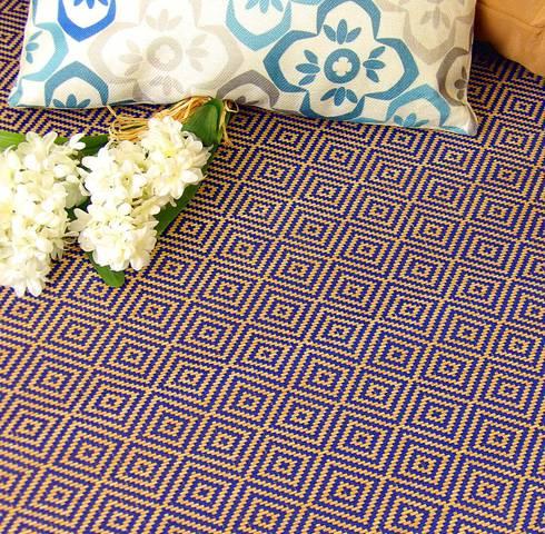 La alfombra perfecta cuando el bamb y el hilo se juntan de latiendawapa homify - Alfombra de bambu ...