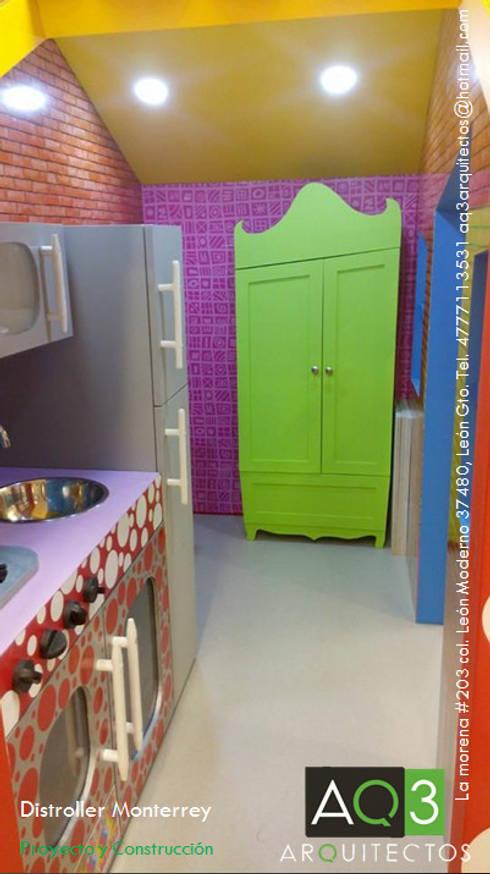 Distroller Monterrey:: Habitaciones infantiles de estilo  por AQ3 Arquitectos