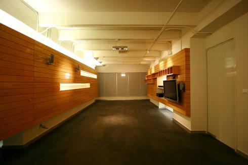 Copo - RIMA Arquitectura: Salas de estilo moderno por RIMA Arquitectura
