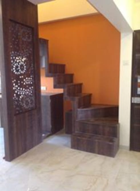 Venturebee: minimalistic Living room by Venturebee