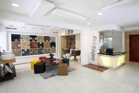 Tienda Embelezzia: Espacios comerciales de estilo  por Objetos DAC