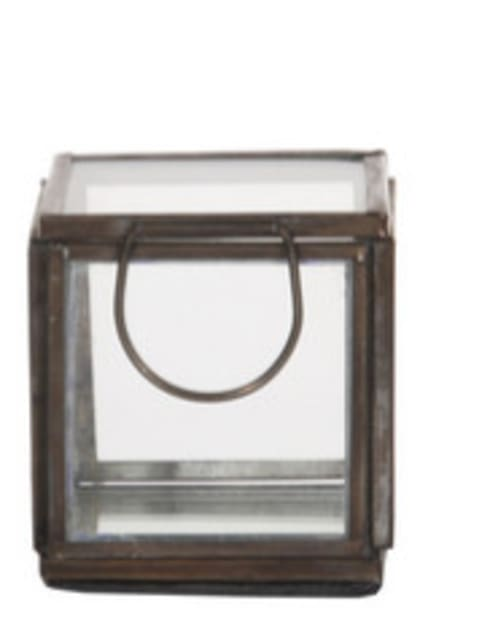 Caixa de Vidro Pequena: Casa  por Manuela Bento Decor
