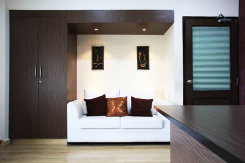 Office interiors @ Perungudi..:  Commercial Spaces by Ashpra Interiors