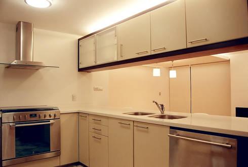 AH - RIMA Arquitectura: Cocinas de estilo moderno por RIMA Arquitectura