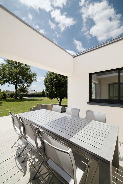 Projekty,  Taras zaprojektowane przez O2 Concept Architecture