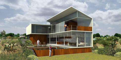 Amanali - RIMA Arquitectura: Cocinas de estilo moderno por RIMA Arquitectura