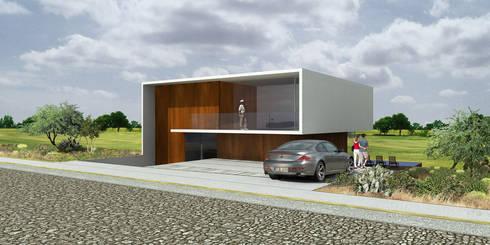 Amanali - RIMA Arquitectura: Casas de estilo moderno por RIMA Arquitectura