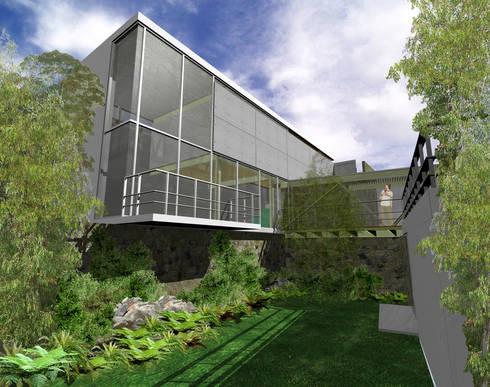 Casa Prado Largo - RIMA Arquitectura: Casas de estilo moderno por RIMA Arquitectura