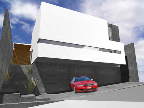 Casa Real de Tétela - RIMA Arquitectura: Casas de estilo moderno por RIMA Arquitectura