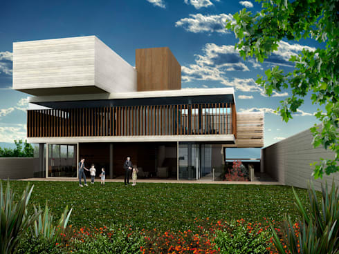 Bacatete - RIMA Arquitectura: Casas de estilo moderno por RIMA Arquitectura