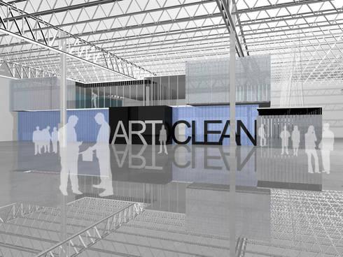 Art Clean - RIMA Arquitectura: Estudios y oficinas de estilo moderno por RIMA Arquitectura