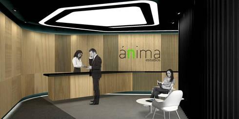 Anima - RIMA Arquitectura: Cocinas de estilo moderno por RIMA Arquitectura