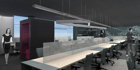 Anima - RIMA Arquitectura: Estudios y oficinas de estilo moderno por RIMA Arquitectura