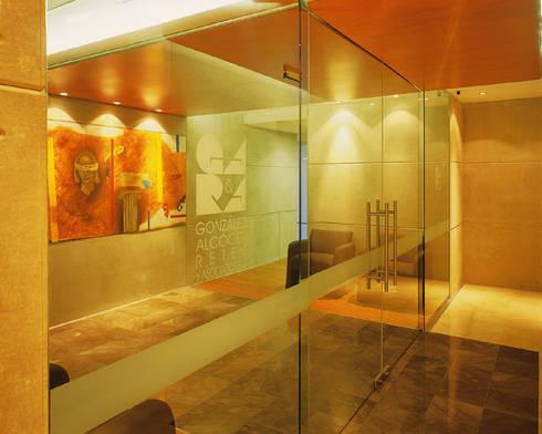 González Alcocer - RIMA Arquitectura: Estudios y oficinas de estilo moderno por RIMA Arquitectura
