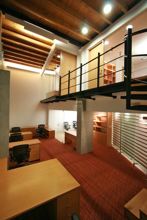Elques - RIMA Arquitectura: Estudios y oficinas de estilo moderno por RIMA Arquitectura