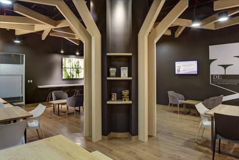 SCA - RIMA Arquitectura: Estudios y oficinas de estilo moderno por RIMA Arquitectura