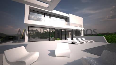 Sintra - SRF # Lote 17: Moradias  por Andreia Anjos - Arquitectura, Design e Construção