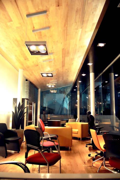 Ezquerro y Catalá - RIMA Arquitectura: Estudios y oficinas de estilo moderno por RIMA Arquitectura
