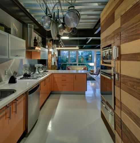 Rosedal - RIMA Arquitectura: Cocinas de estilo moderno por RIMA Arquitectura
