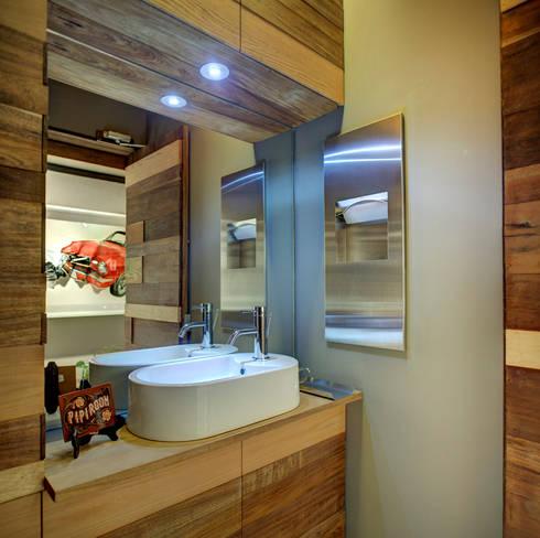Rosedal - RIMA Arquitectura: Baños de estilo  por RIMA Arquitectura