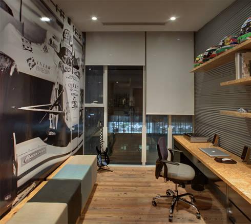 Memo Rojas - RIMA Arquitectura: Recámaras de estilo moderno por RIMA Arquitectura