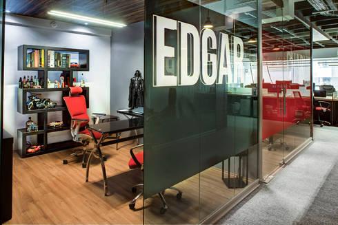 GIDEAS - RIMA Arquitectura: Estudios y oficinas de estilo moderno por RIMA Arquitectura