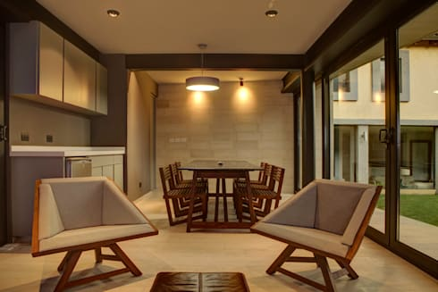 Casa Lava - RIMA Arquitectura: Salas de estilo moderno por RIMA Arquitectura