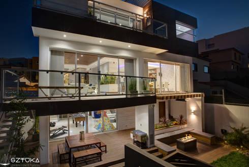 Terrazas: Terrazas de estilo  por SZTUKA  Laboratorio Creativo de Arquitectura