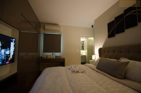 BTO Dawson: modern Bedroom by Designer House
