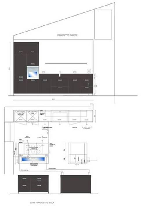 Progetto di una cucina Arclinea di STEFANIA ARREDA | homify