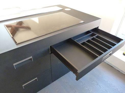 Progetto di una cucina arclinea di stefania arreda homify - Progetto di una cucina ...