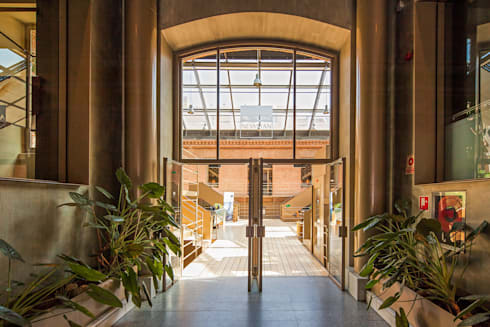 oficinas aguirre newman u allende arquitectos