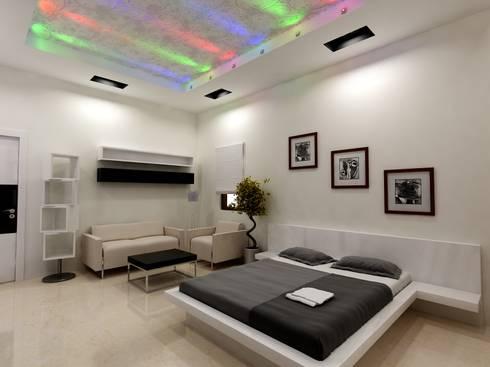 Mr.Javed: asian Bedroom by Shadab Anwari & Associates.
