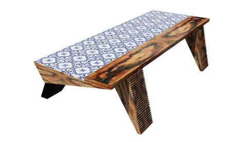 Saama Table: Sala de jantar  por ARQAMA - Arquitetura e Design Lda