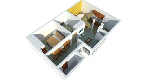 Perspectiva: Casas de estilo moderno por Ingenieros y Arquitectos Continentes