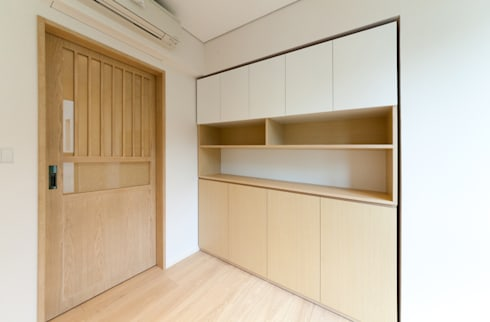 Study room: minimalistic Study/office by arctitudesign