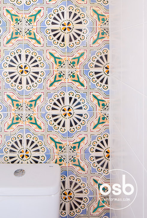 Casa de banho  por osb reformas