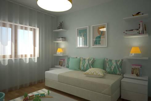 Playroom:   por Red Centre - Design & Feng Shui