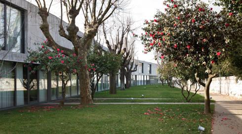 Casas no Pinheiro Manso:   por Serôdio, Furtado & Associados, Arquitectos Lda.