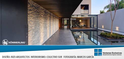 Vista Orgánica: Ventanas de estilo  por Ventanas Exclusivas Guadalajara