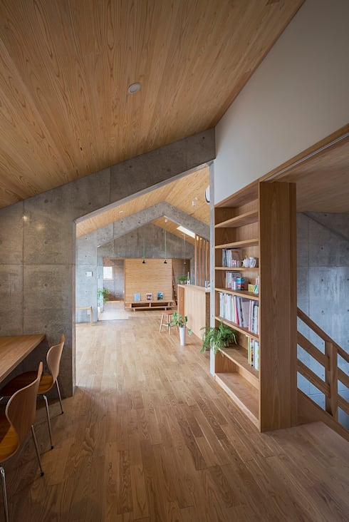 Projekty,  Domowe biuro i gabinet zaprojektowane przez ATELIER N